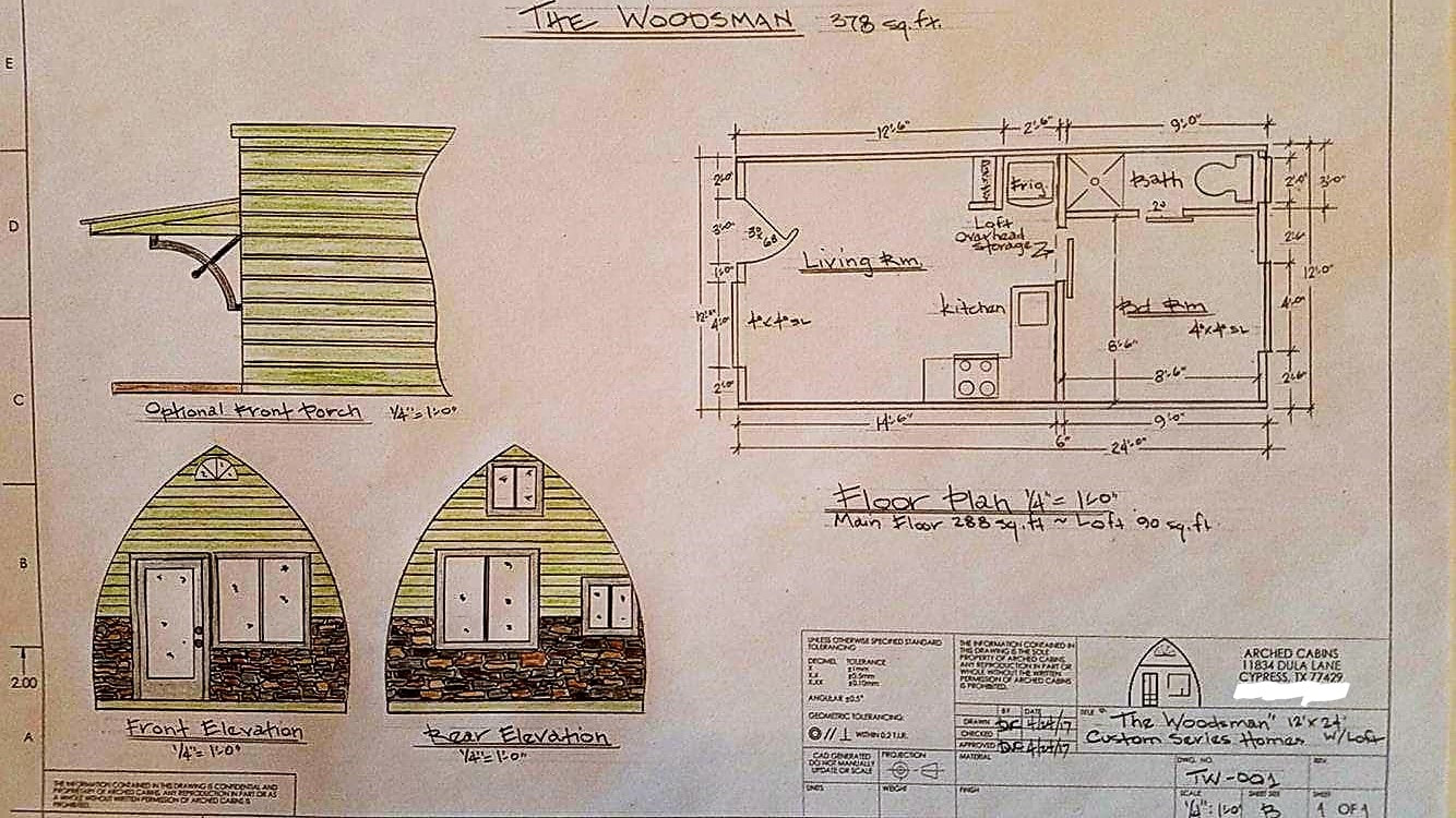 Tiny House Interior Floor Plan