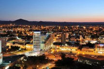 Hilton Windhoek Hotel Wasserfall Munting Architects