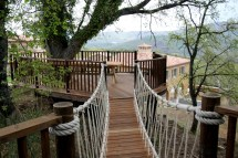 Tuscan Tree House Drinks Deck Blue Forest Archello