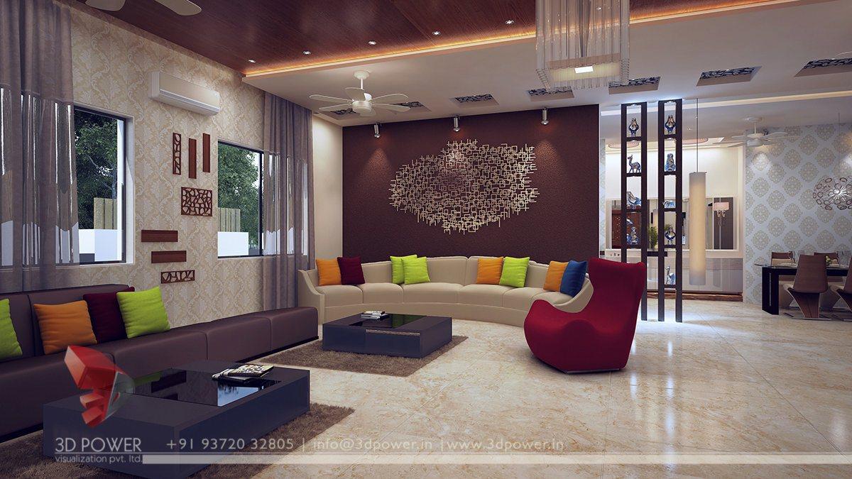 Harmonious interiors  3D Power Visualization Pvt Ltd