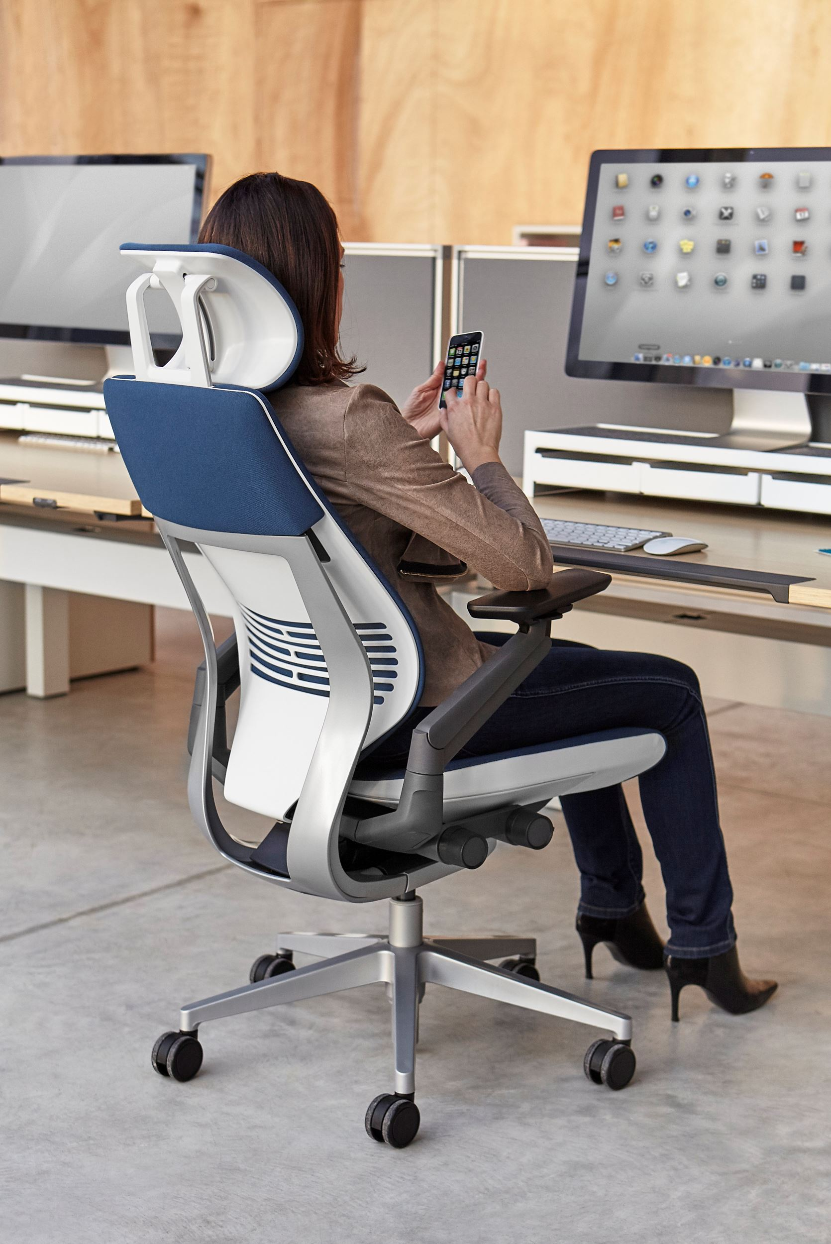 steelcase gesture chair christmas themed covers by archello