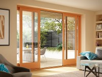 Essence Series French Style Sliding Door by Milgard ...