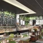 Eco Friendly Restaurant Interior Design For Aventura Comelite Architecture Structure And Interior Design Archello