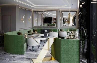 Modern Fine Dining Restaurant Interior Design