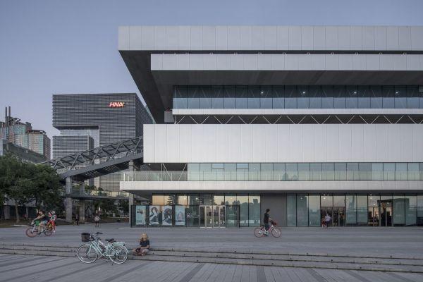 Shanghai Modern Art Museum Atelier Deshaus Archello