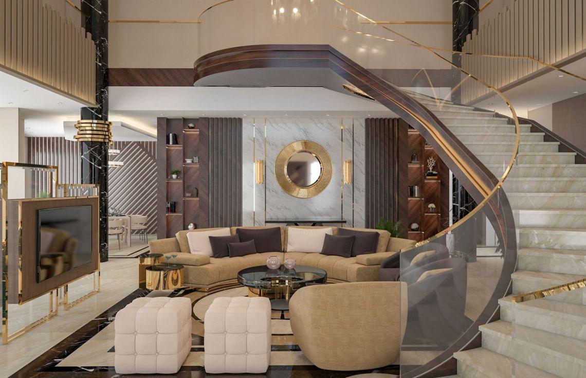 Luxury Contemporary Villa Interior Design | Comelite ...
