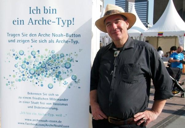 """Jörg Meuser, Essen """"Ich bin ein Arche-Typ, weil ein konstruktives Miteinander normal ist."""""""