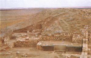 Ebla - Immagine degli scavi