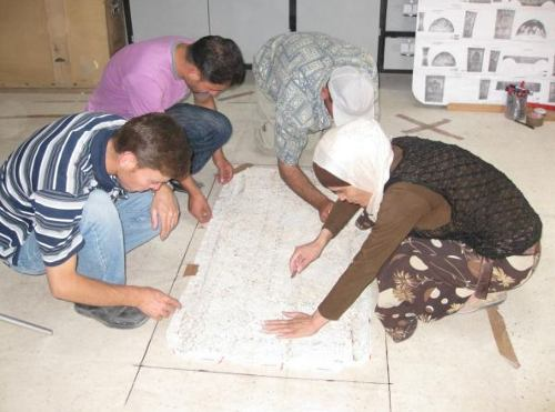 Corso storia mosaico siria