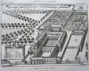 Vue ancienne de Saint-Faron à Meaux
