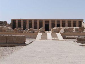 Temple d'Osiris à Abydos, édifié sous Séthi Ier (-1290 à -1279)