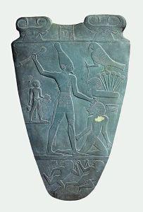 Palette de Narmer, découverte à Nekken.