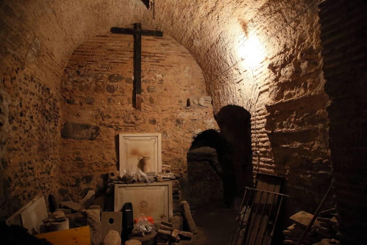 Galerie souterraine romaine découverte à Tolède