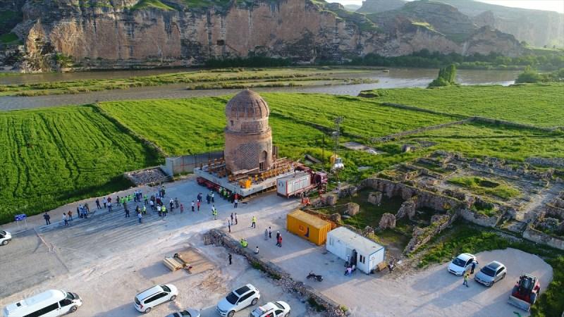 mausolée sauvé des eaux Anatolie