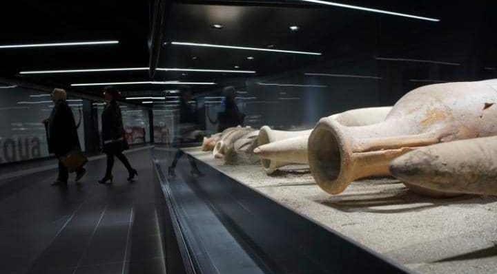 Une station-musée de la ligne C à Rome présentée au public