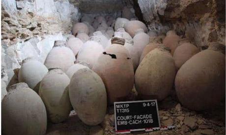 Kit de momification du vizir Ipi redécouvert à Deir el-Bahari