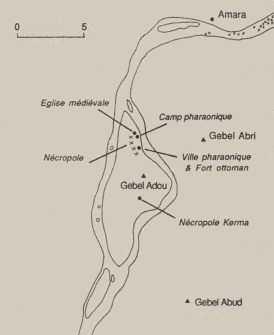 carte-île-de-saï-nubie-soudan