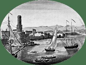 vue-ancienne-port-royal-jamaïque