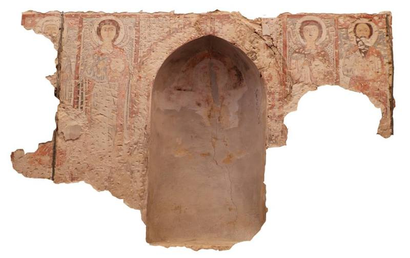 fresques-monastère-copte-saint-bishoy-wadi-el-natrun-égypte
