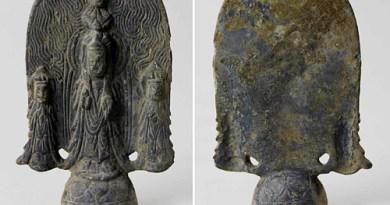 Exceptionnelle statuette bouddhique du VIe siècle découverte en Corée du Sud