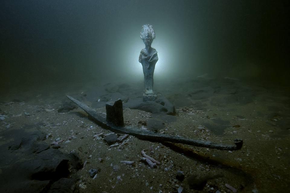 Troisépaves romaines et autres trésors découverts près d'Alexandrie