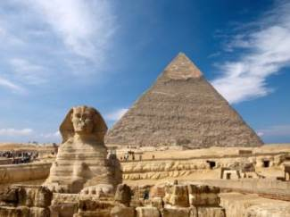 sphinx pyramide guizeh