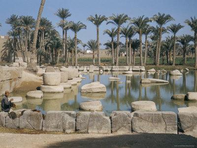 ruines Memphis Egypte