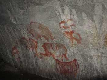 Art paléolithique grotte Kapova