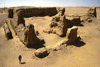 hierakonpolis nekhen enclos pharaonique