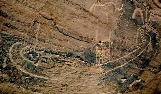 pétroglyphe bateau egypte predynastique nekhen hierakonpolis