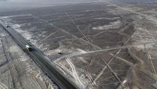 Lignes de Nazca au Pérou : trois géoglyphes endommagés par un camion
