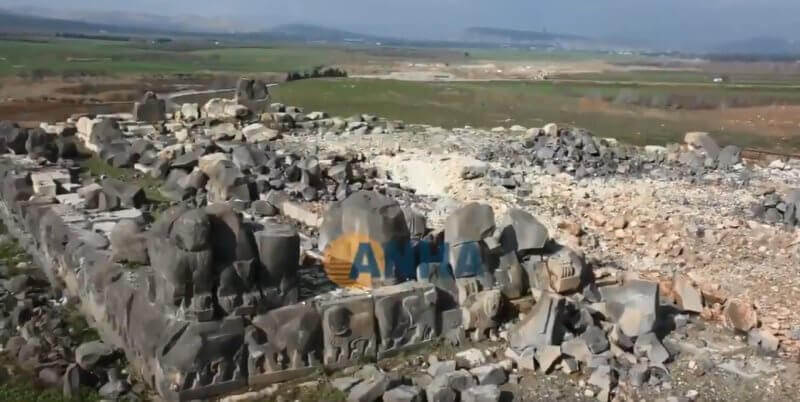 temple néo-hittite Ain Dara Syrie