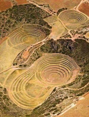 site archéologique inca de Moray, Pérou
