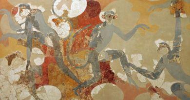 Des singes sur une peinture minoenne témoignent d'échanges lointains