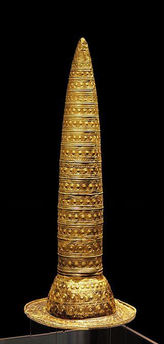 Berlyno auksinė kepurė. Šaltinis: https://en.wikipedia.org/wiki/Berlin_Gold_Hat