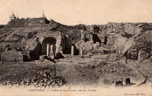 Basilique mariale colline Byrsa