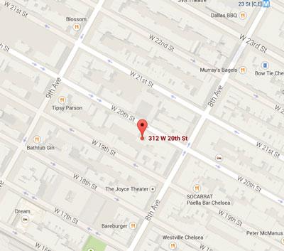 Current map of Dan Quinn's old neighborhood