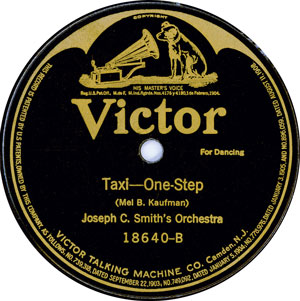 Taxi, by Joseph C. Smith's Orchestra (Ryan Barna Collection)