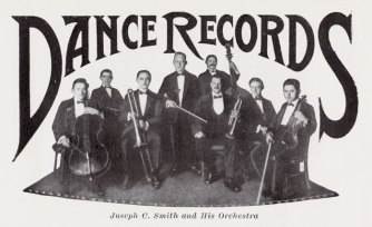 Band close up in March 1918 Columbia supplement (Archeophone Records Collection)