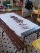 Les objets présentés aux enfants