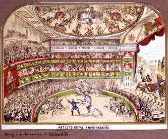 Philip Astley à Londres au XIXe s.