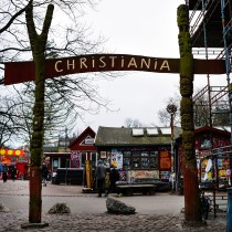 Christiania其中一處入口