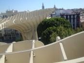 Las Setas view
