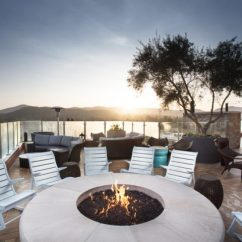 The Living Room With Sky Bar Rug Size Ideas Vine Rooftop Things Are Looking Up Archer Hotel Blog