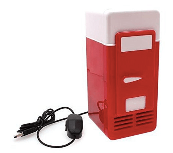 A mini-fridge USB device