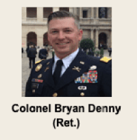Colonel Bryan Denny, whose pictures have been stolen by romance scammers