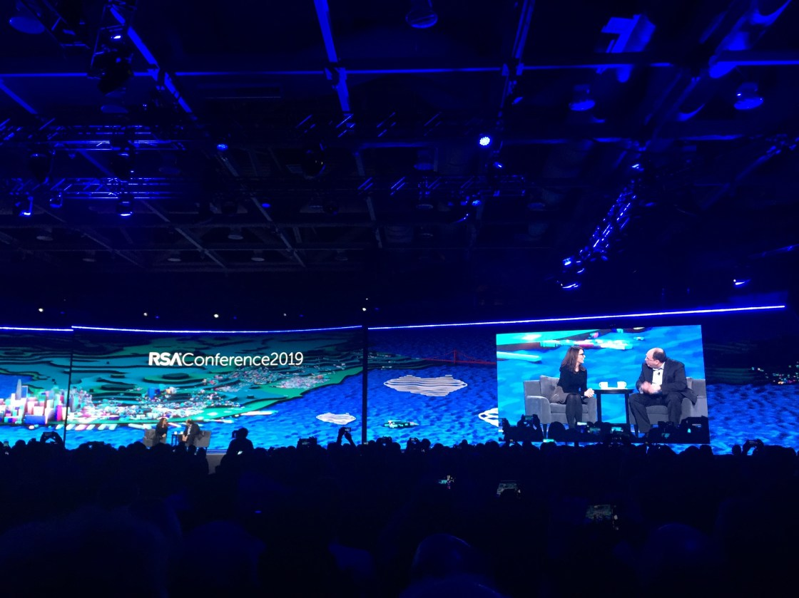 Tina Fey speaks about comedy and cybersecurity at the RSA 2019 conference in San Francisco