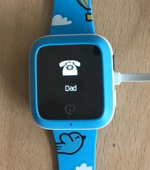 """Kids' watch security researchers create a fake call from """"dad"""""""