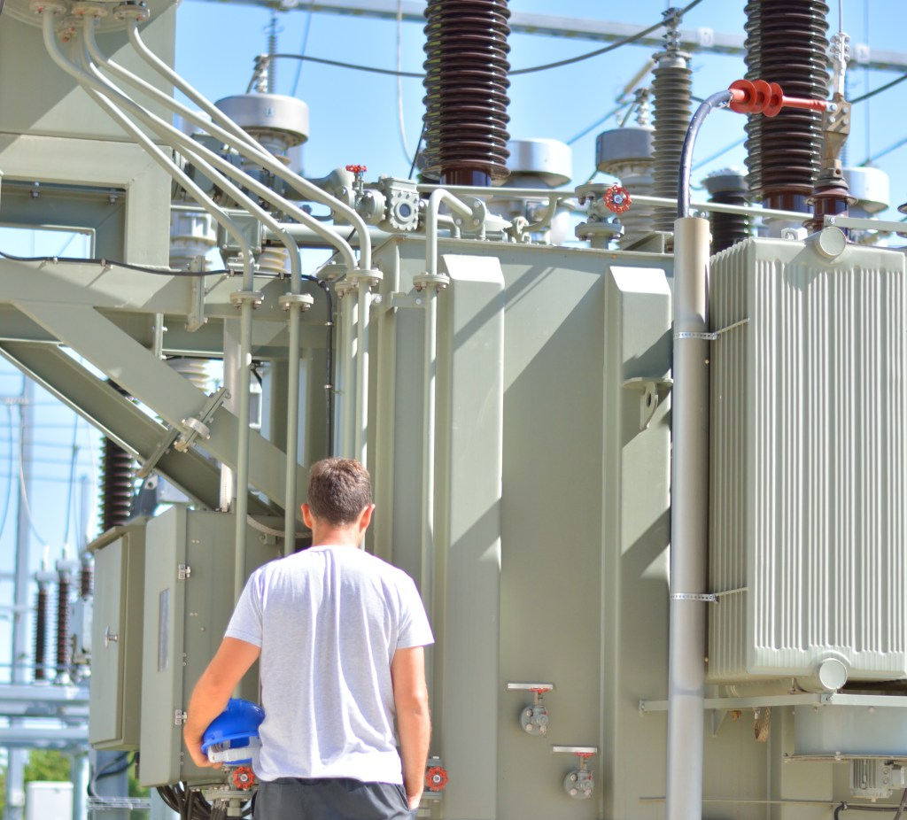 Part of the smart grid