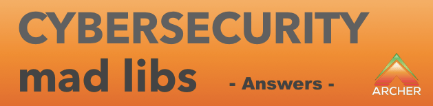 cybersecurity mad libs banner